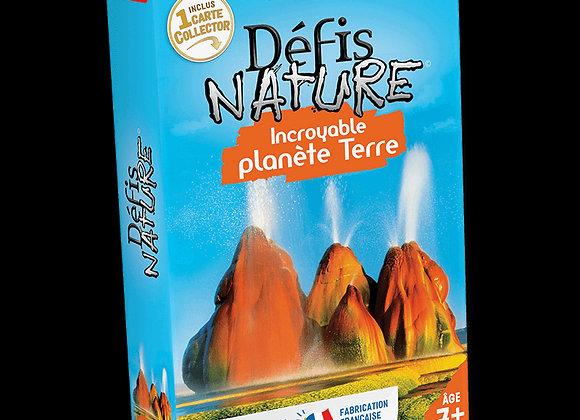 Défis Nature Incroyable planète terre - BIOVIVA!