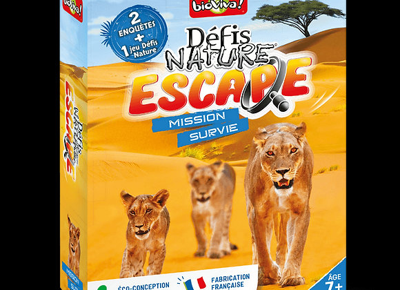 Défis Nature Escape Mission survie - BIOVIVA!