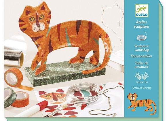 Atelier de sculpture Le Tigre - DJECO