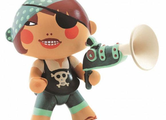 Figurine pirate Caraiba Toys - DJECO