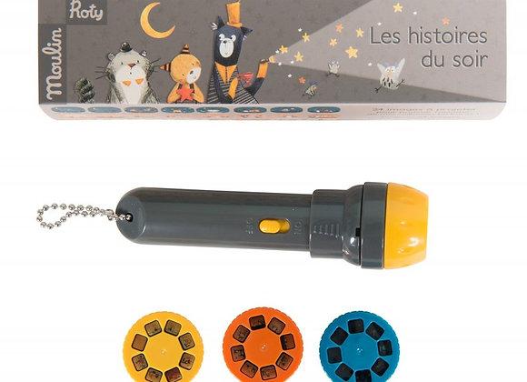 Lampe à histoires Les Moustaches - MOULIN ROTY