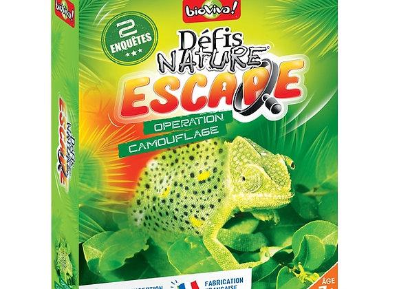 Défis Nature Escape Opération Camouflage - BIOVIVA!