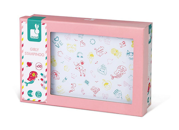 Coffret de 50 tampons Girly - JANOD