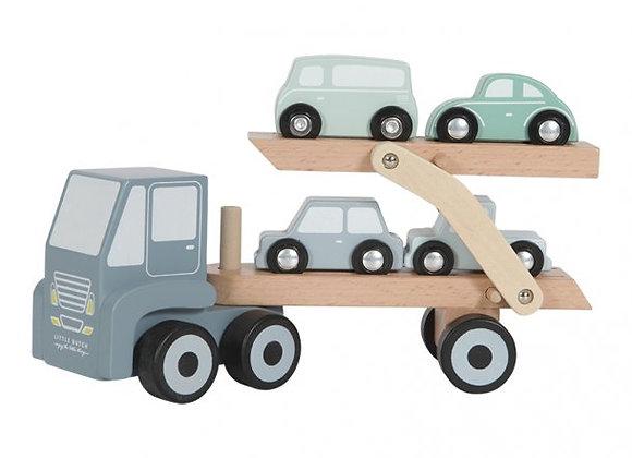 Camion transporteur en bois - LITTLE DUTCH