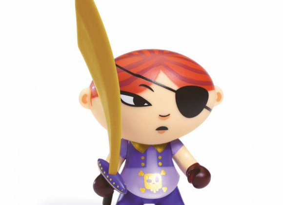 Figurine Pirate Mary Scarlett Arty Toys - DJECO