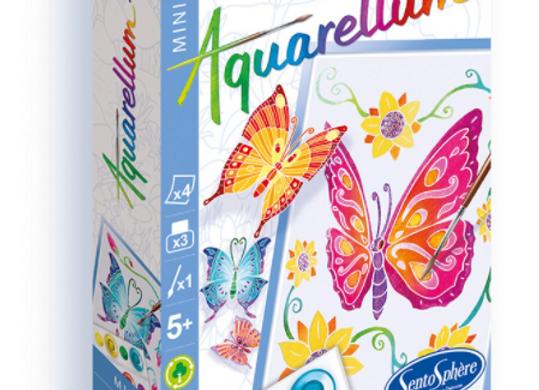 Aquarellum Mini Papillons - SENTOSPHERE