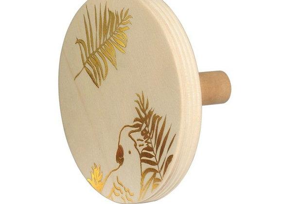 Patère Perroquet d'or - MIMI'LOU