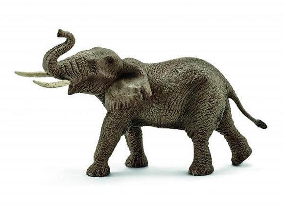 Figurine Eléphant Mâle d'Afrique - SCHLEICH