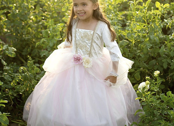 Robe de princesse or rose 5/6 ans - GREAT PRETENDERS