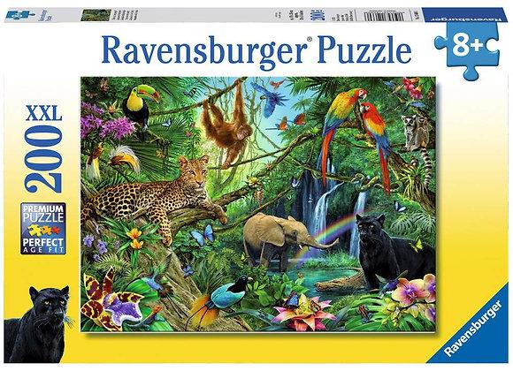 Puzzle Animaux Jungle 200 pièces - RAVENSBURGER