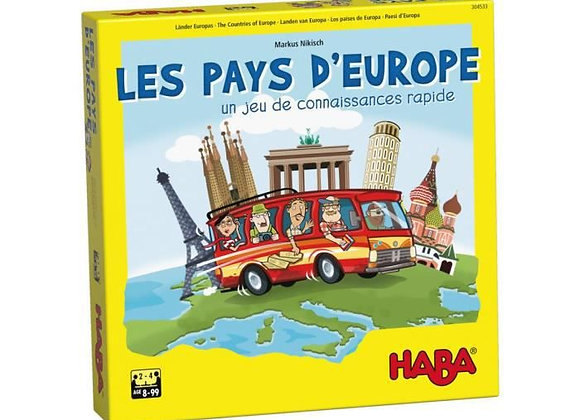 Les pays d'Europe - HABA