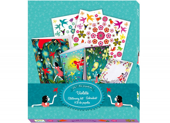 Ma papeterie Violette Lovely Paper - DJECO