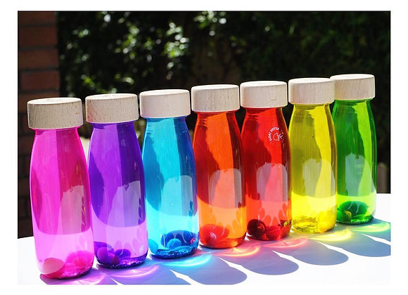 Bouteille sensorielle  (Plusieurs coloris disponibles) - PETIT BOUM