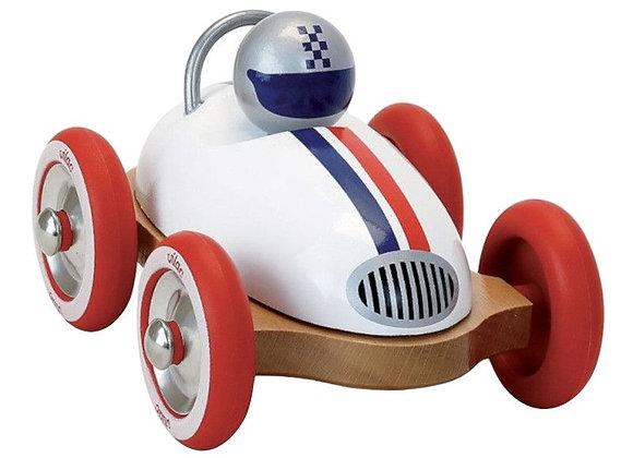 Voiture Roadster vintage blanc - VILAC