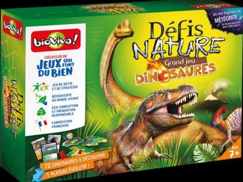 Défis nature Grand jeu dinosaures  – BIOVIVA!