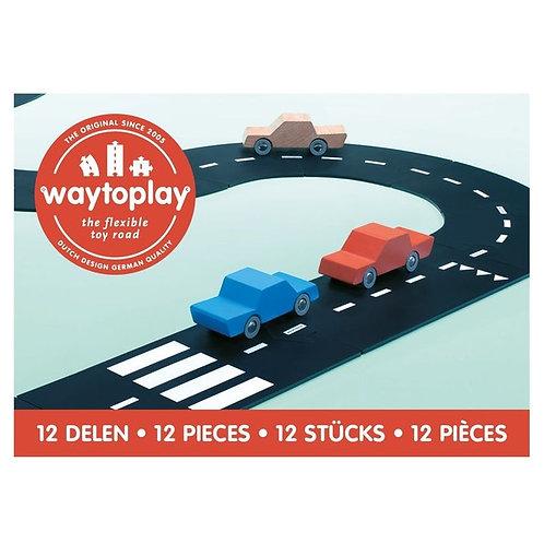 Circuit de voiture flexible 12 pièces - WAY TO PLAY