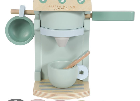 Machine à café en bois - LITTLE DUTCH
