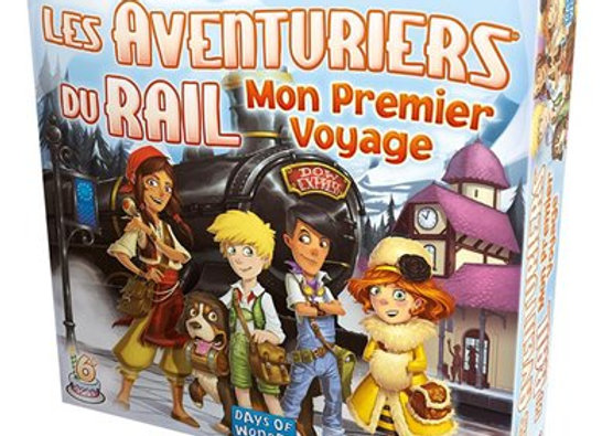 Les aventuriers du rail Mon premier voyage - ASMODEE