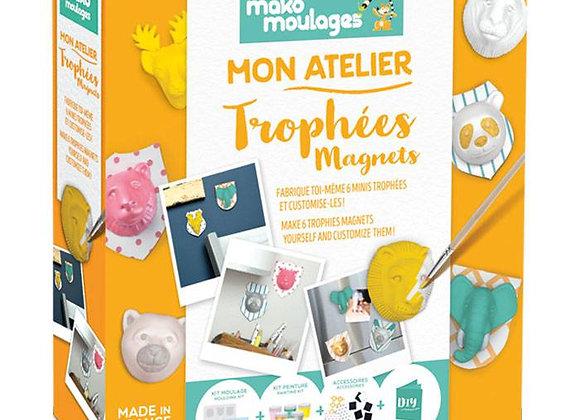 Mon Atelier Trophées Magnets - MAKO MOULAGES