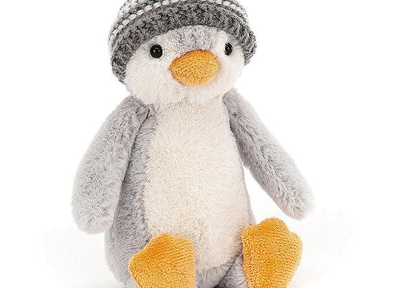 Peluche Pingouin avec un bonnet à pompon - JELLYCAT