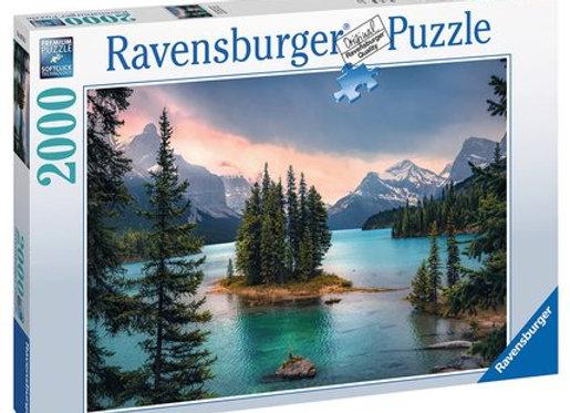 Puzzle 2000 pièces Île de l'Esprit, Canada - RAVENSBURGER