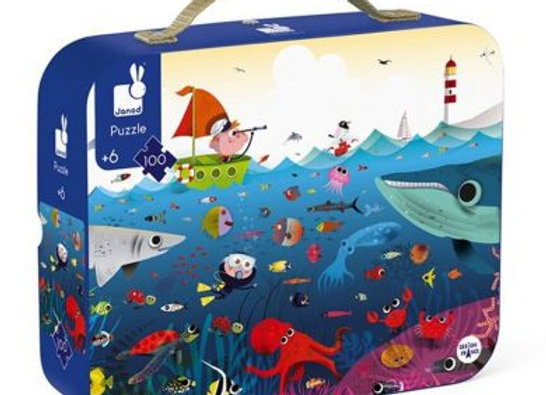 Puzzle Monde sous marin 100 pièces - JANOD