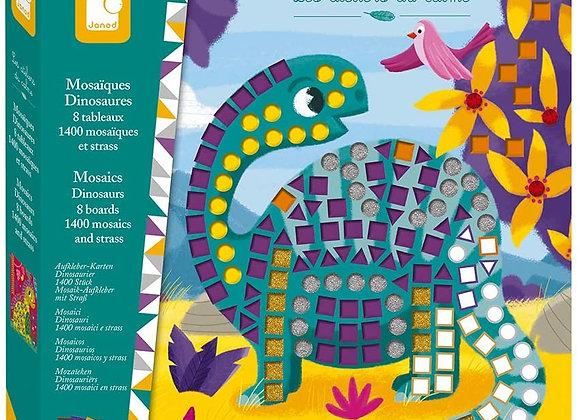 Mosaïques Dinosaures Les ateliers du calme Hachette - JANOD