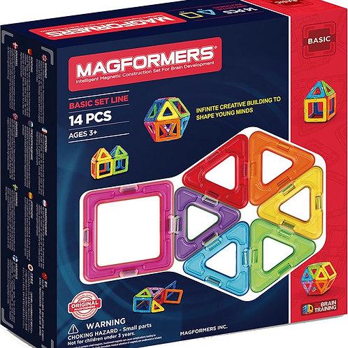 Basic Set 14 pièces - MAGFORMERS