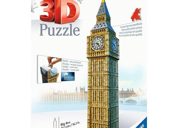 Puzzle 3D 216 pièces Big ben - RAVENSBURGER