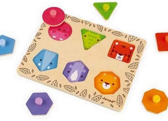 J'apprends les formes Géométriques - JANOD