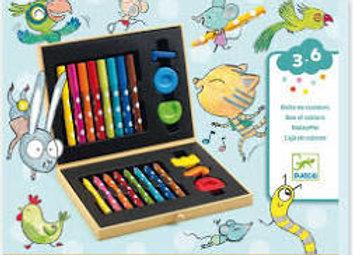 Boîte de couleurs pour les petits – DJECO DESIGN