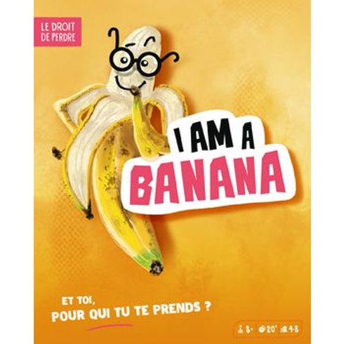 I am a banana –BLACKROCK GAMES