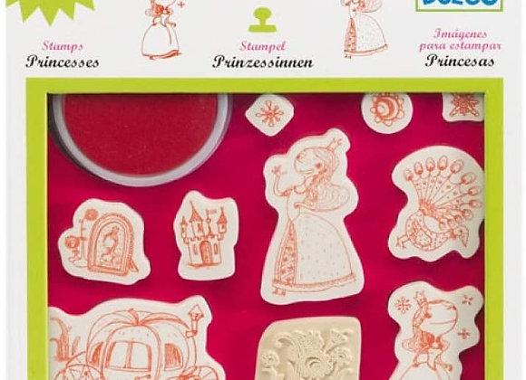Images à tamponer Princesses - DJECO