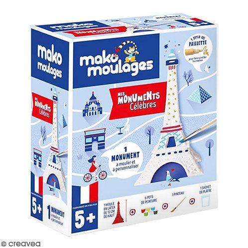 Coffret Moulage Ma Tour Eiffel - MAKO MOULAGES