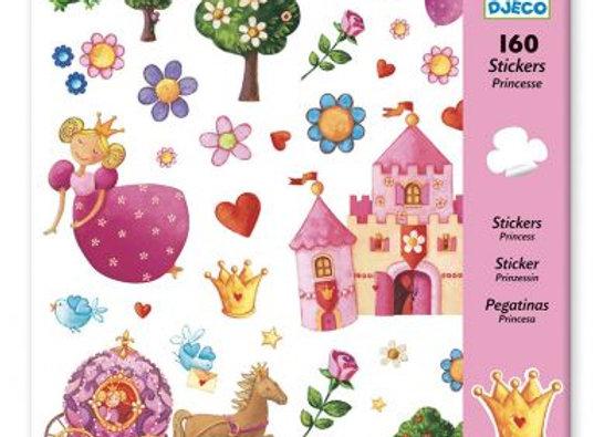 160 stickers Princesse - DJECO