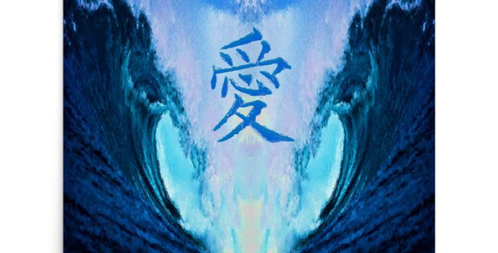 """""""Waves Of Love"""" Art Print"""