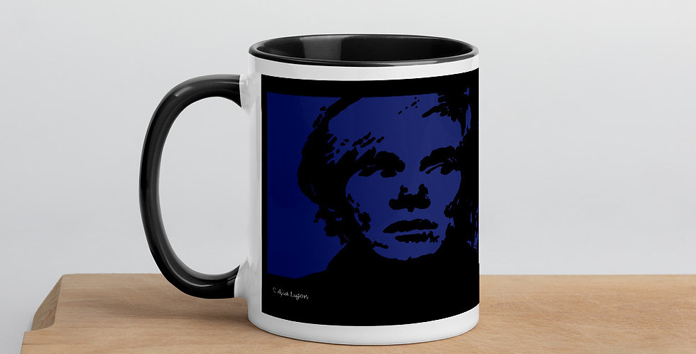 """Warhol (Midnight)"" Coffee Mug"