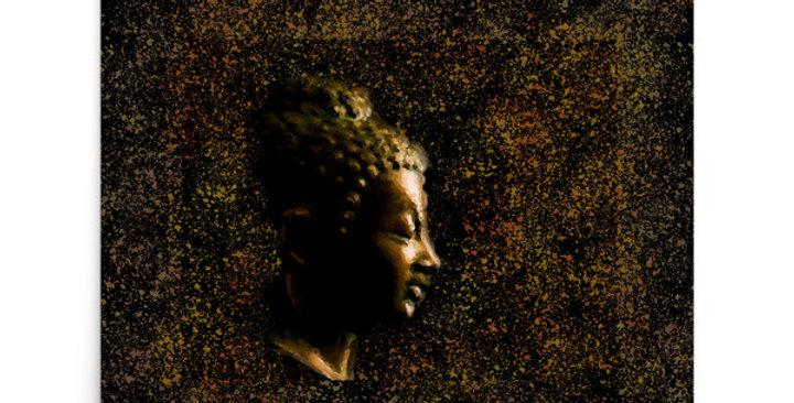 """Bronze Buddha"" Art Print"