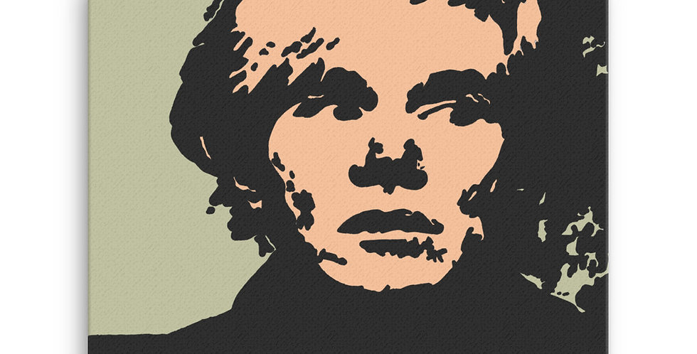 """Warhol (Pop)"" Canvas Print"