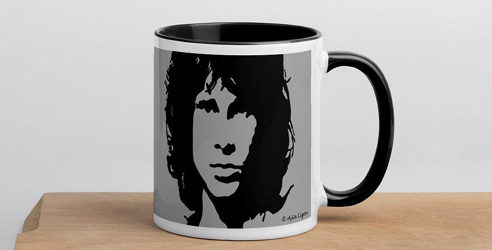 """""""Jim (Charcoal)"""" Coffee Mug"""