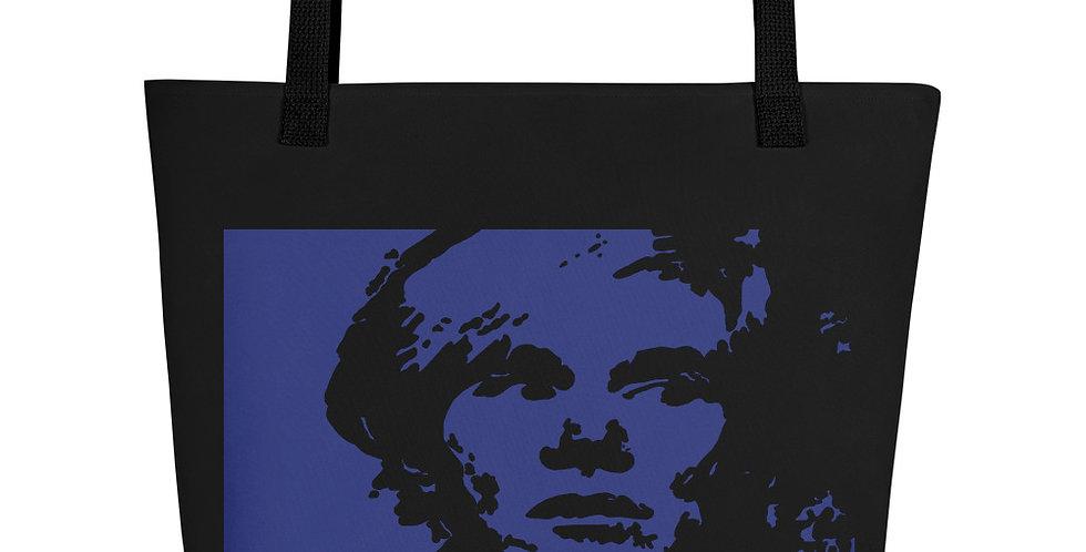 """""""Warhol (Midnight)"""" Tote Bag"""