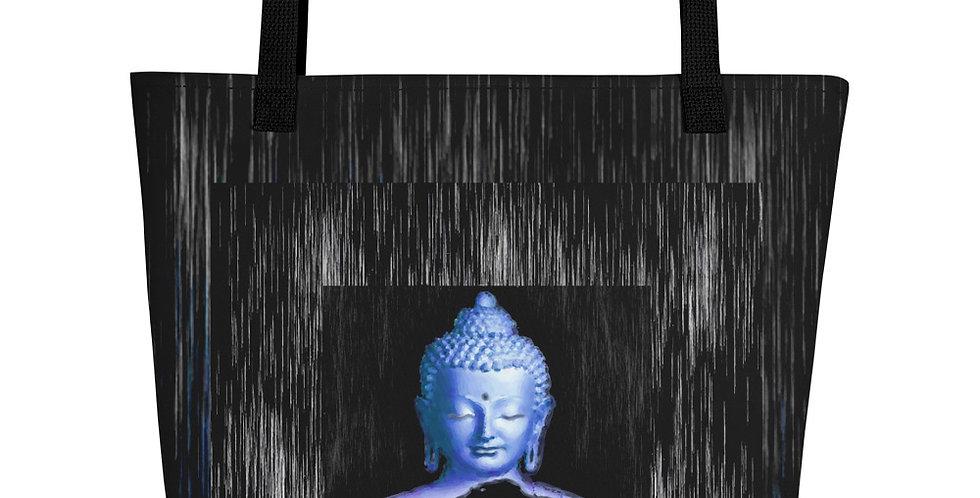 """Silver Buddha"" Tote Bag"