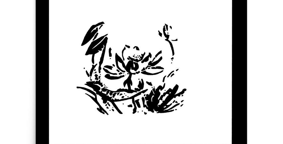 """""""Lotus Pond II"""" Art Print"""