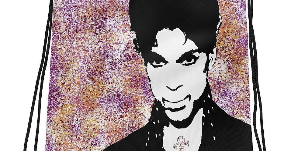 """Prince (Graffiti)"" Drawstring Bag"