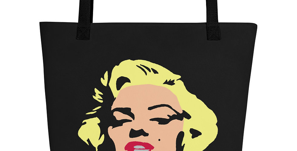 """Marilyn (Pop) II"" Tote Bag"