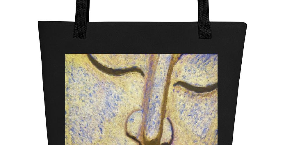 """Painted Buddha"" Tote Bag"