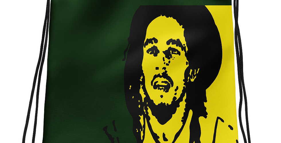 """Marley (Jamaica)"" Drawstring Bag"