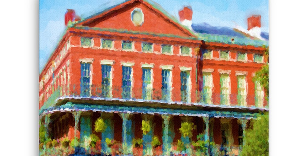 """French Quarter"" Canvas Print"