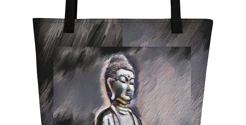 """""""Buddha (Shadows)"""" Tote Bag"""