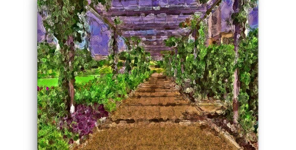 """""""Centennial Gardens Atrium"""" Canvas Print"""